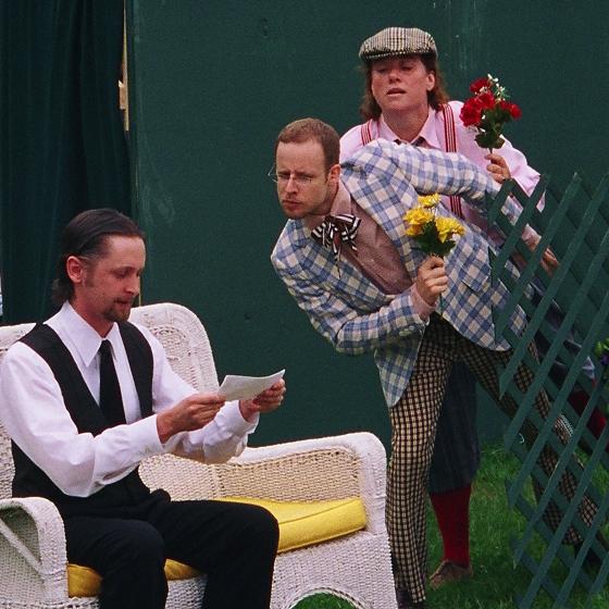 Twelfth Night, Toby and Andrew spy on Malvolio